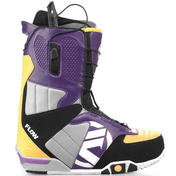 Flow Rival Snowboard Boot 2012 in Yellow Purple