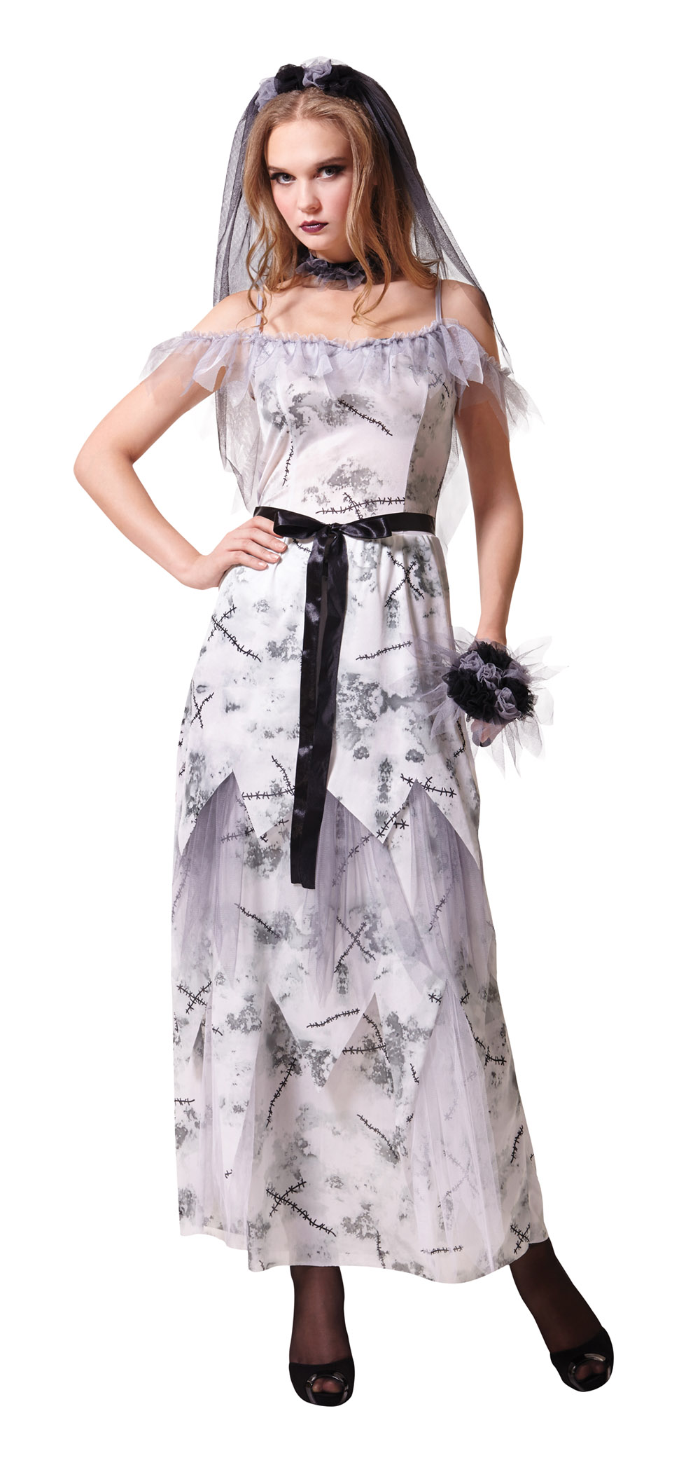 zombie bride short dress wedding dress halloween costume Zombie Wedding Fancy Dress Ideas