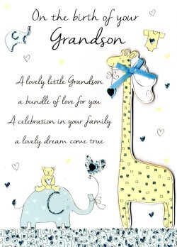 Deluxe New Baby Son Congratulations Greeting Card New Baby Son Congratulations Greeting Card Cards Love Kates Congratulations On Your New Baby Wishes Congratulations On Your New Baby Girl