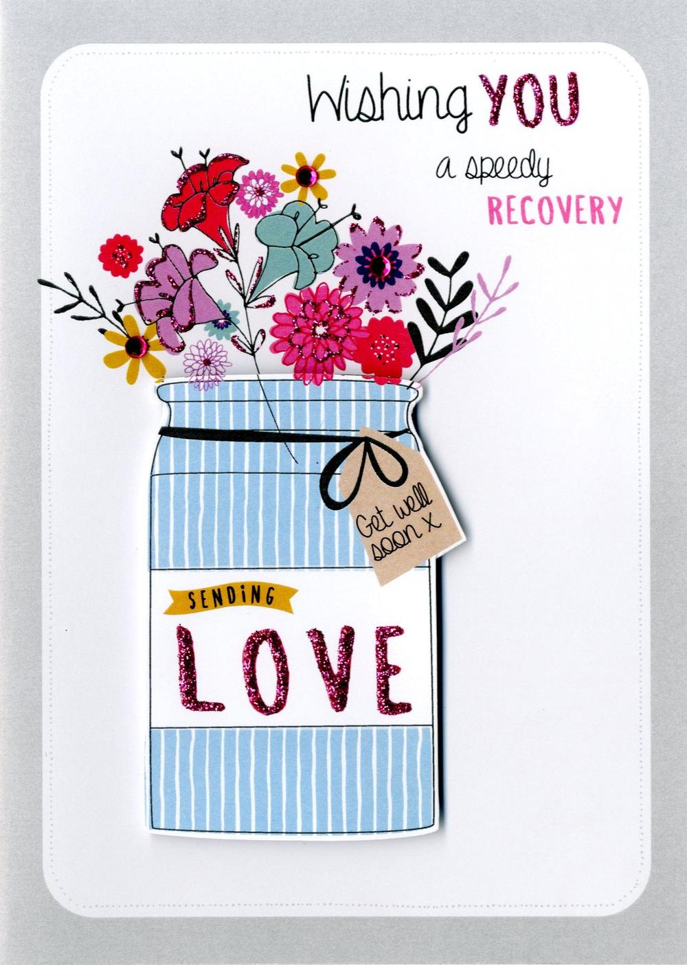 Chic Speedy Recovery Get Well Greeting Card Speedy Recovery Get Well Greeting Card Cards Love Kates Wishing You A Speedy Recovery Wishing You A Speedy Recovery Get Well Soon cards Wishing You A Speedy Recovery