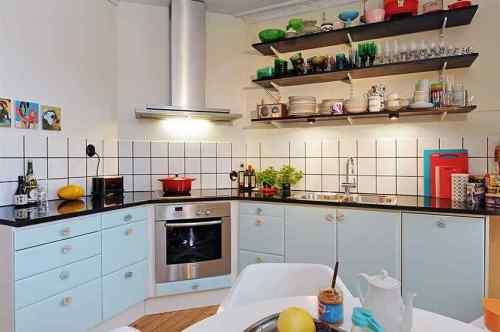 Vista principal de la cocina