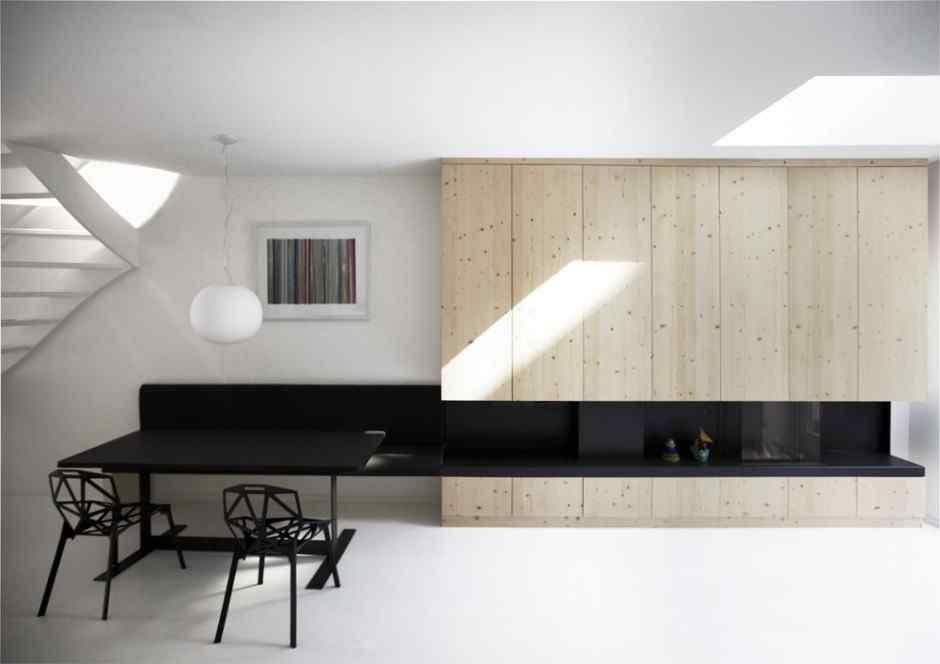 Departamentos Decoracion Minimalista ~ Departamentos minimalistas Home 08 por el estudio i29