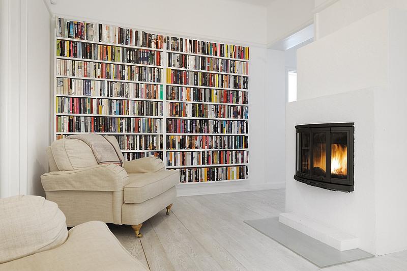 Estilo moderno en blanco absoluto apartamentos modernos for Estilo moderno interiores