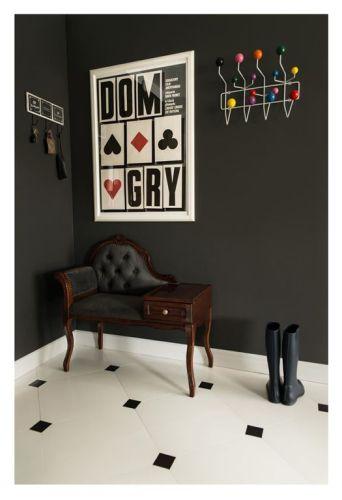 Interiores departamento en blanco y negro 7