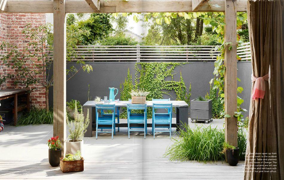 Colores para un jard n moderno for Jardines de patios modernos