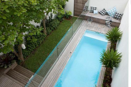 Jardin moderno y pequeño 6