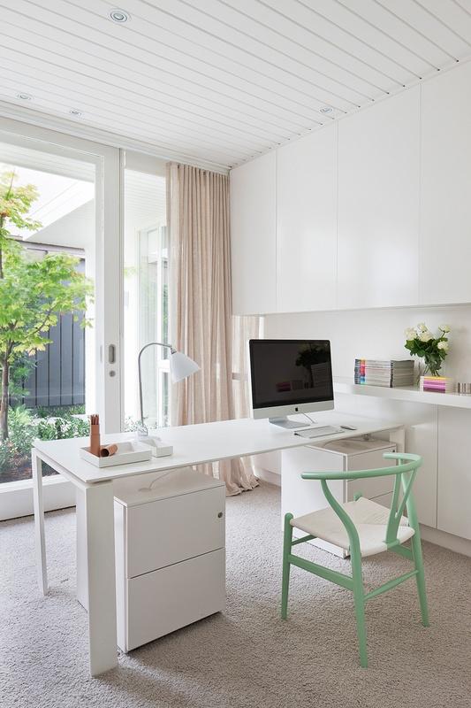 Casa moderna y minimalista con detalles en colores pastel for Casa moderna 11