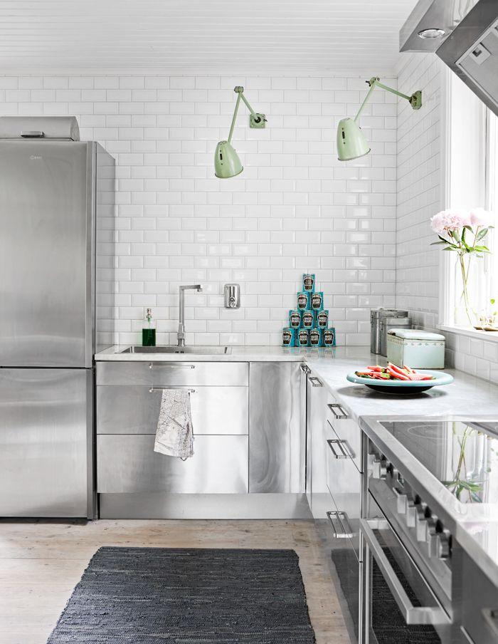 Decoracion Estilo Nordico Industrial ~ En la cocina de estilo industrial, detalles como los apliques de luz