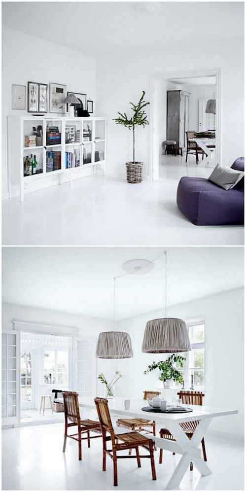 Inspiraci n danesa dise o minimalista en blanco for Decoracion danesa
