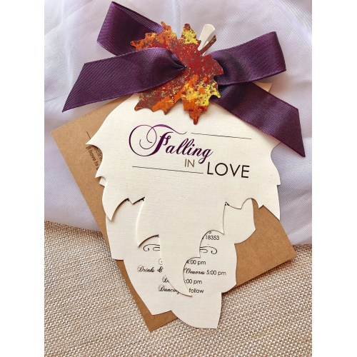 Medium Crop Of Fall Wedding Invitations