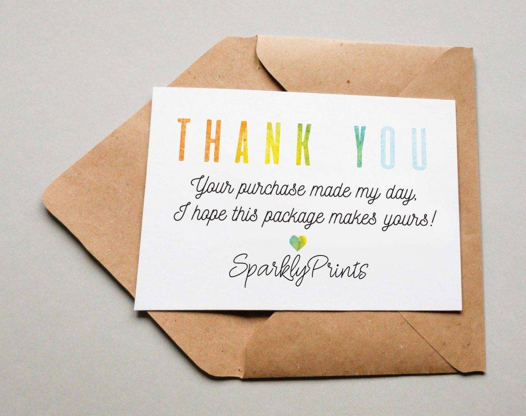 Fullsize Of Business Thank You Cards