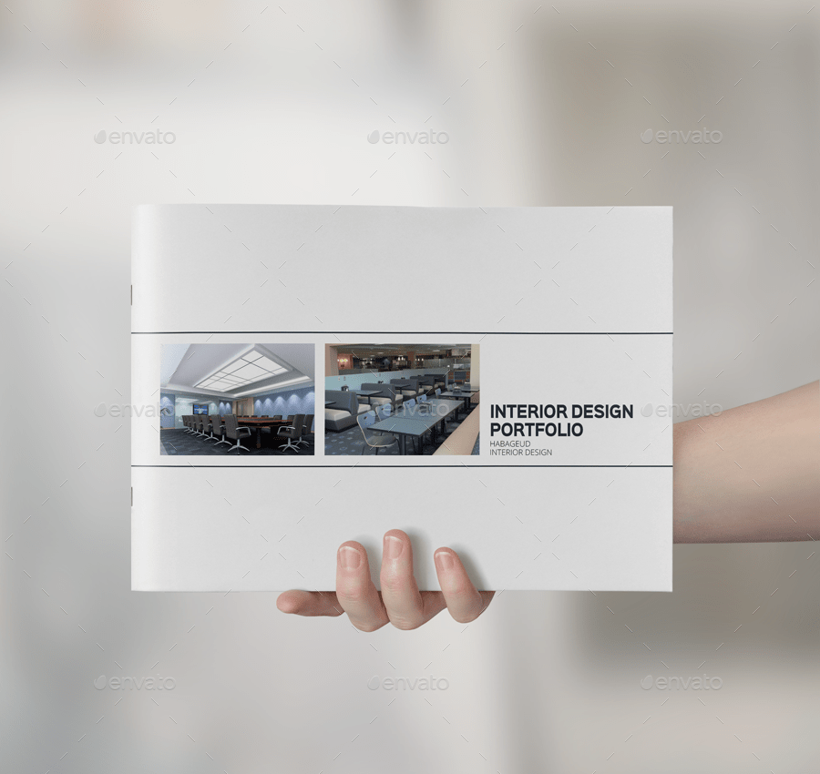10  Interior Design Portfolio Examples   Editable PSD  AI  InDesign     Interior Design Portfolio Template