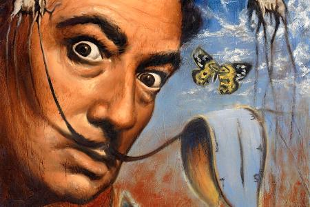 salvador dali portrait travis knight
