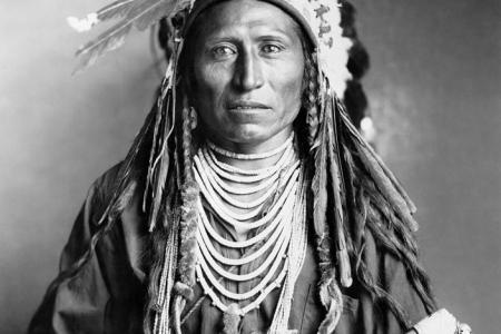 2 shoshone native american granger