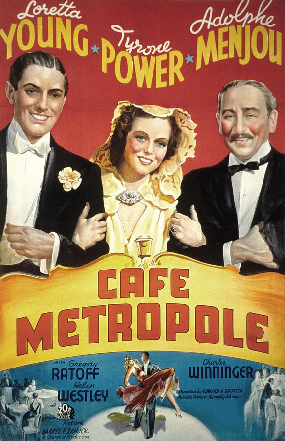 Poster do filme Café Metropole