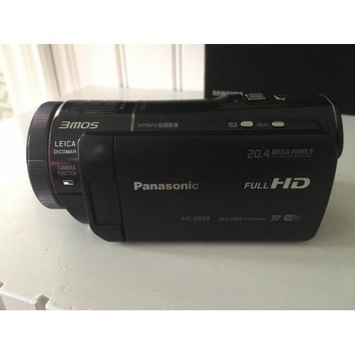 Medium Crop Of Panasonic Hc X920