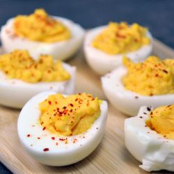 Small Of Spicy Deviled Eggs
