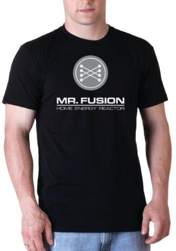 Back to the Future Black Mr. Fusion T-Shirt