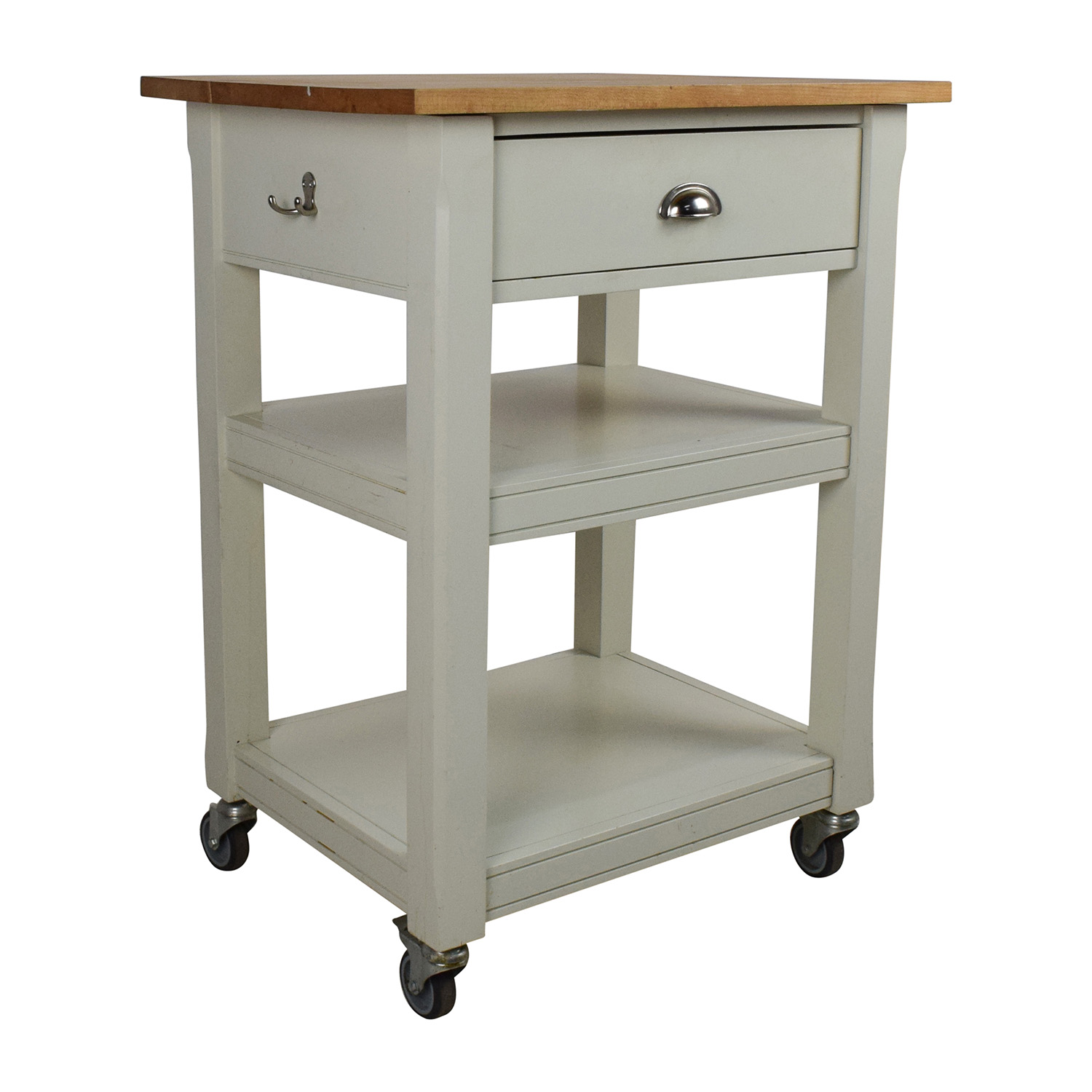 second hand rolling kitchen cart with cutting board kitchen cutting table buy Rolling Kitchen Cart with Cutting Board Utility Tables
