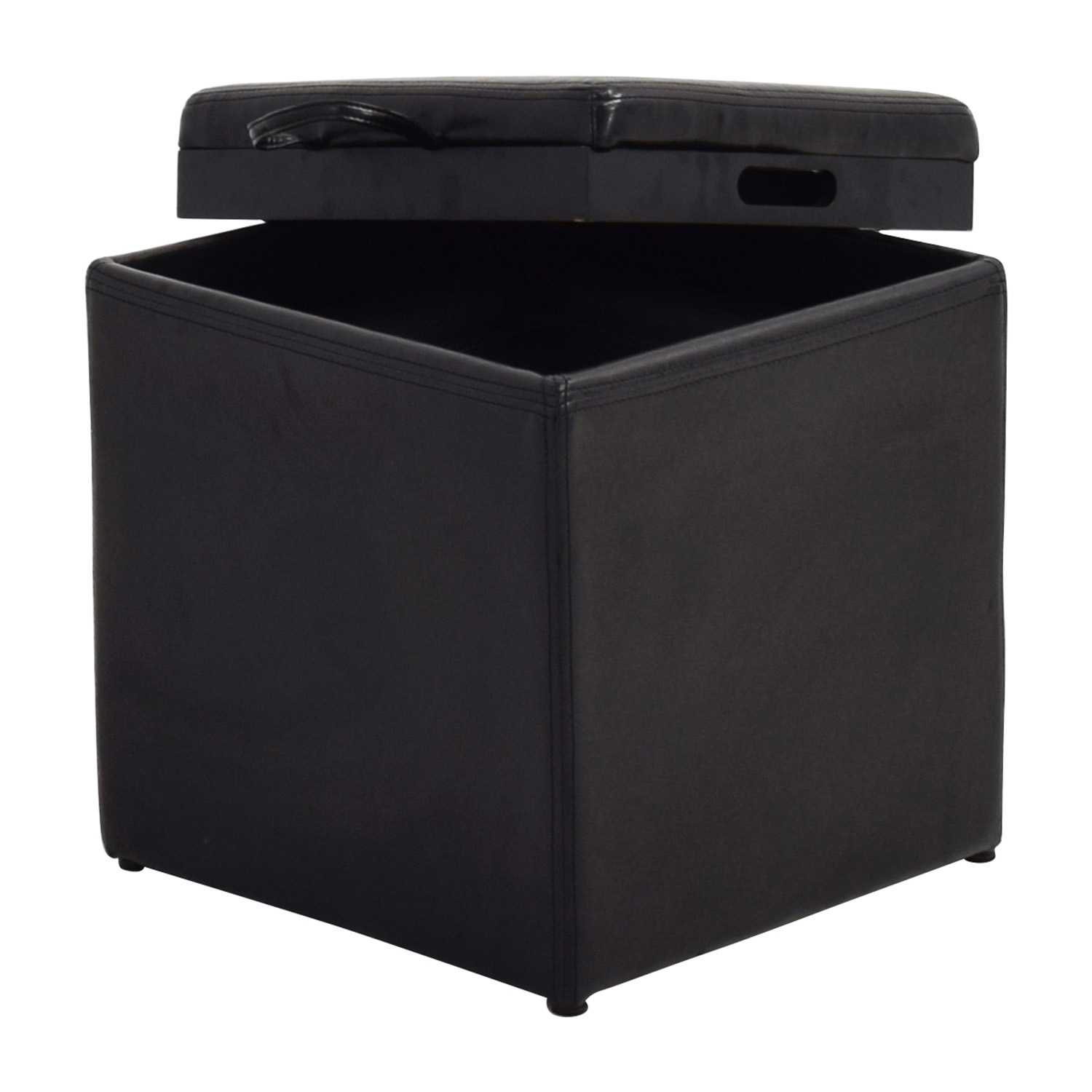 Stunning Smaller Ottoman Nj Off Black Lear Storage Ottoman Ottoman Black Lear Storage Ottoman Smaller Ottoman Chairs Small Lear Club Chair furniture Small Leather Chairs With Ottomans