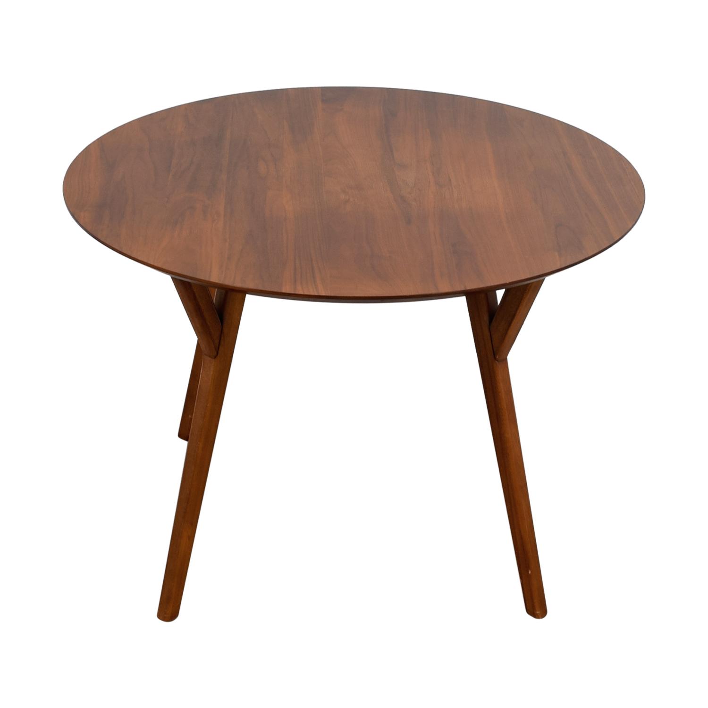 Captivating West Elm West Elm Walnut Round Table On Sale Off West Elm West Elm Walnut Round Table West Elm Table Sale West Elm Table Glass houzz-02 West Elm Dining Table
