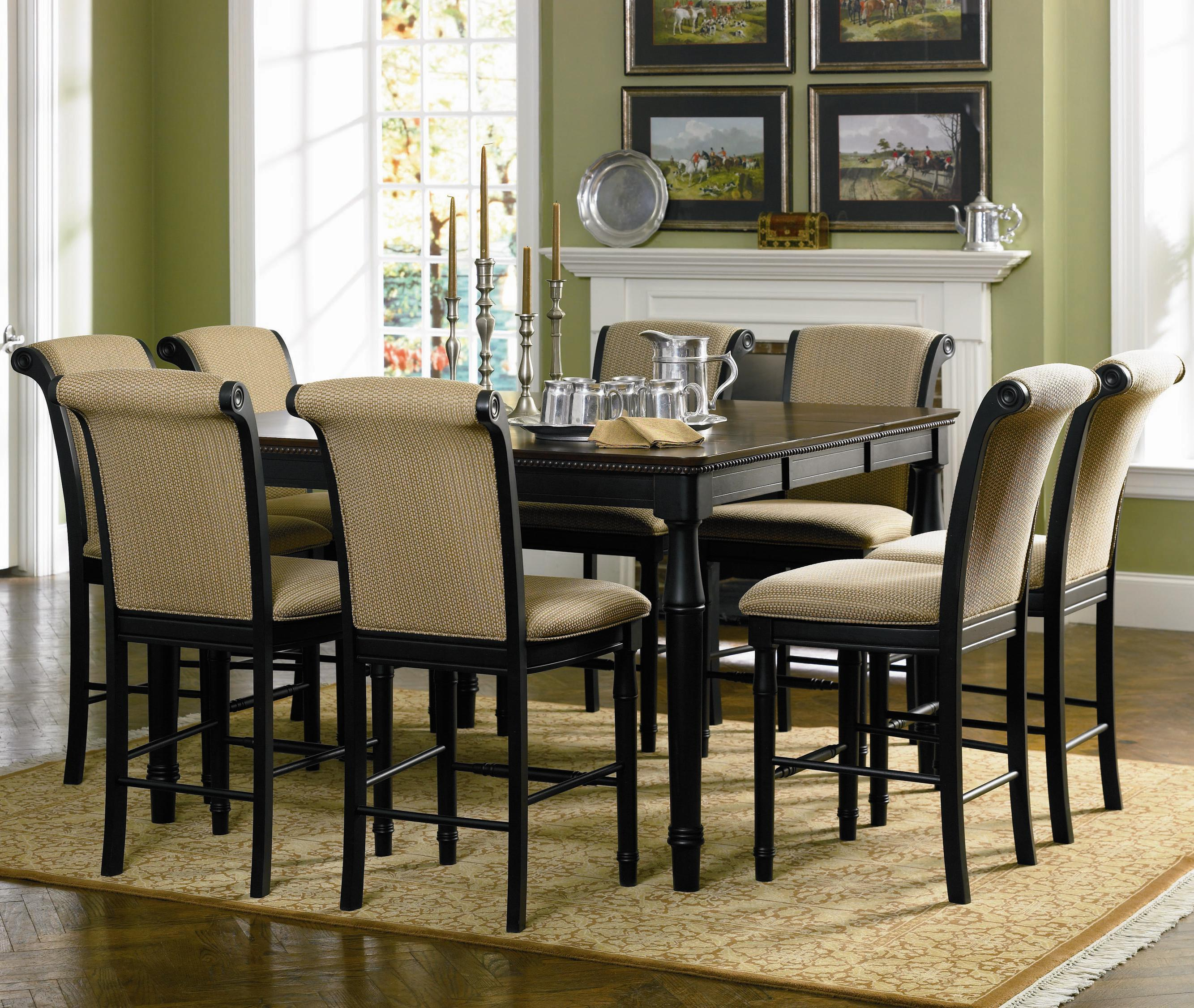 counter height kitchen chairs Coaster Cabrillo Counter Height Chair with Fabric Rolled Back and Seat Coaster Fine Furniture
