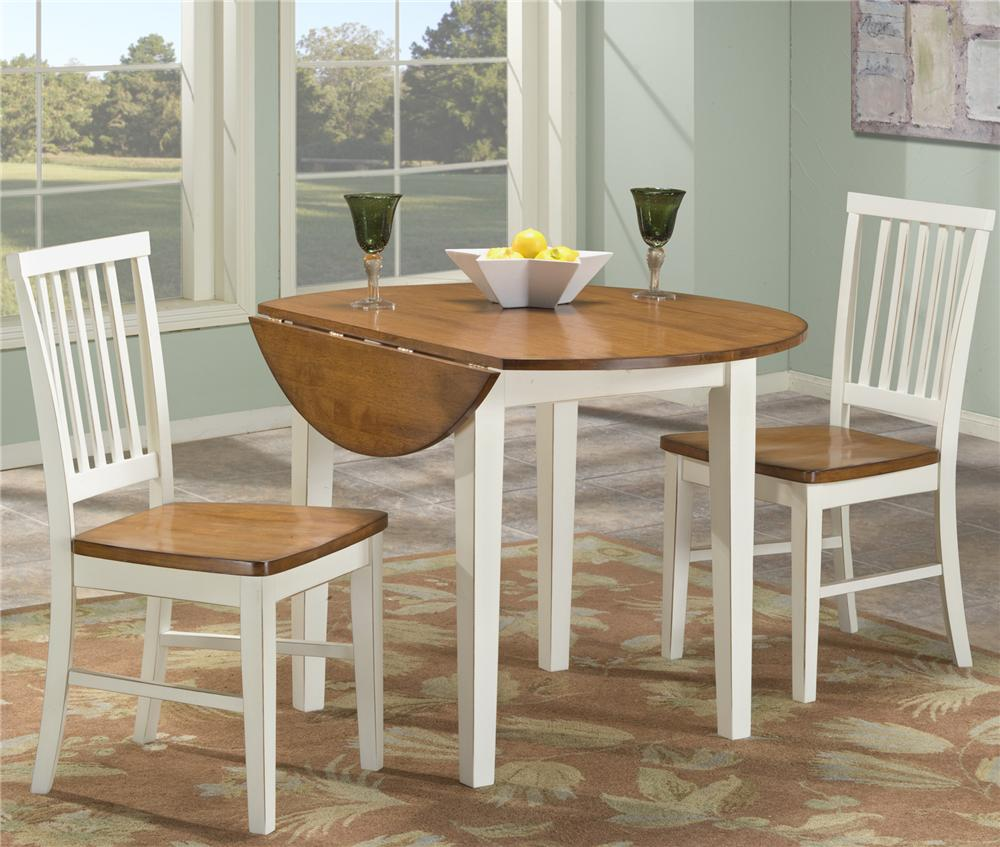 kitchen table chairs Intercon Arlington Dining Table with Slat Back Bench Slat Back Side Chairs Wayside Furniture Table Chair Set with Bench