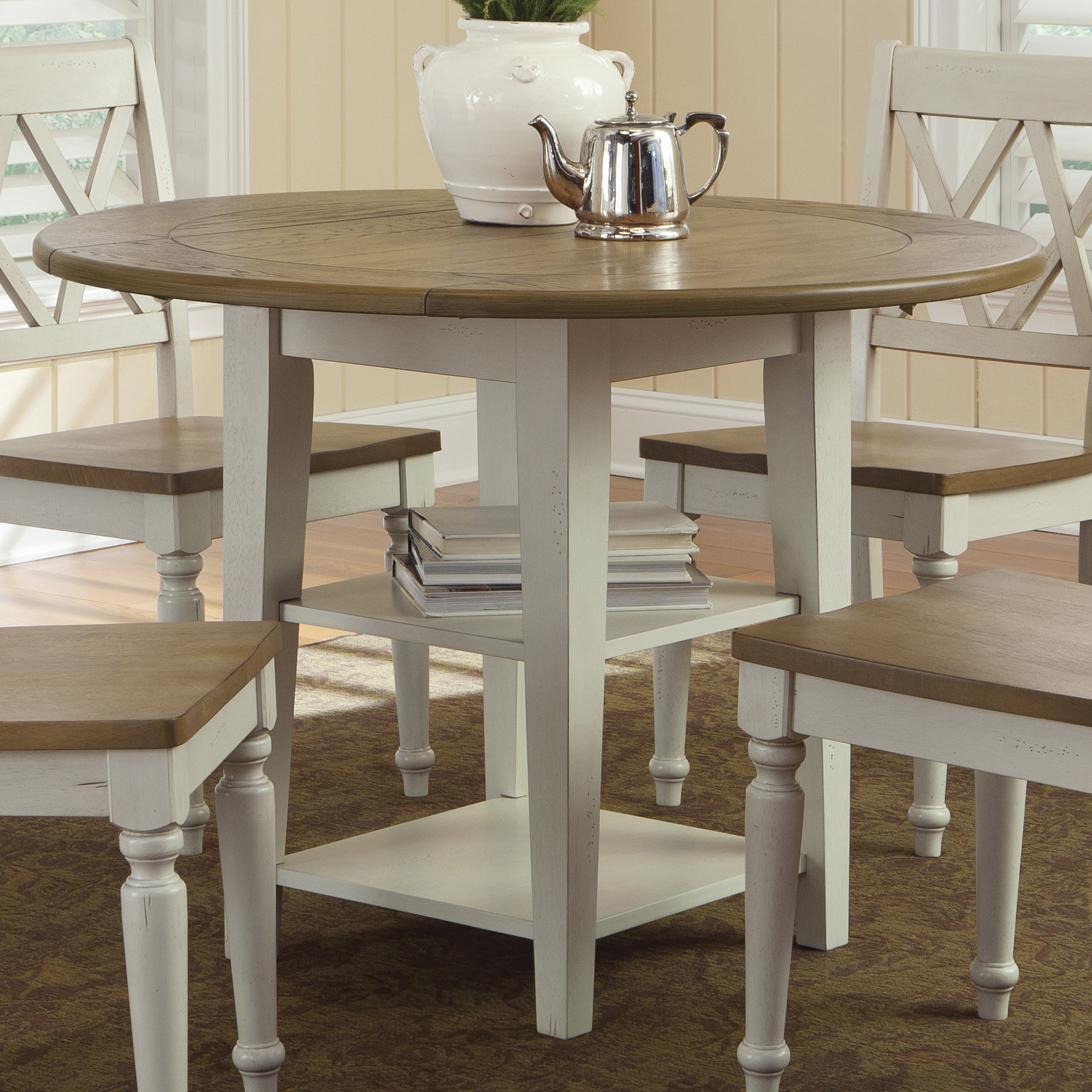 kitchen table with leaf Liberty Furniture Al Fresco III Drop Leaf Dining Table Item Number