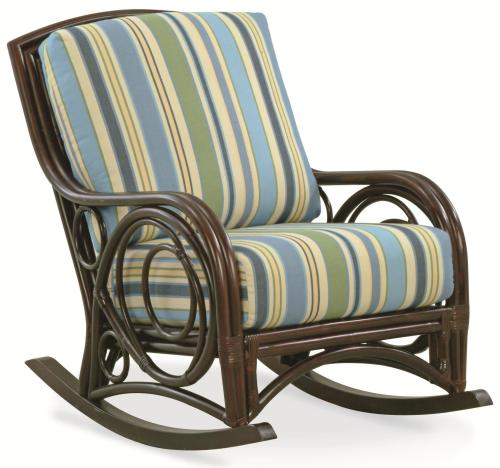 Medium Of Upholstered Rocking Chair