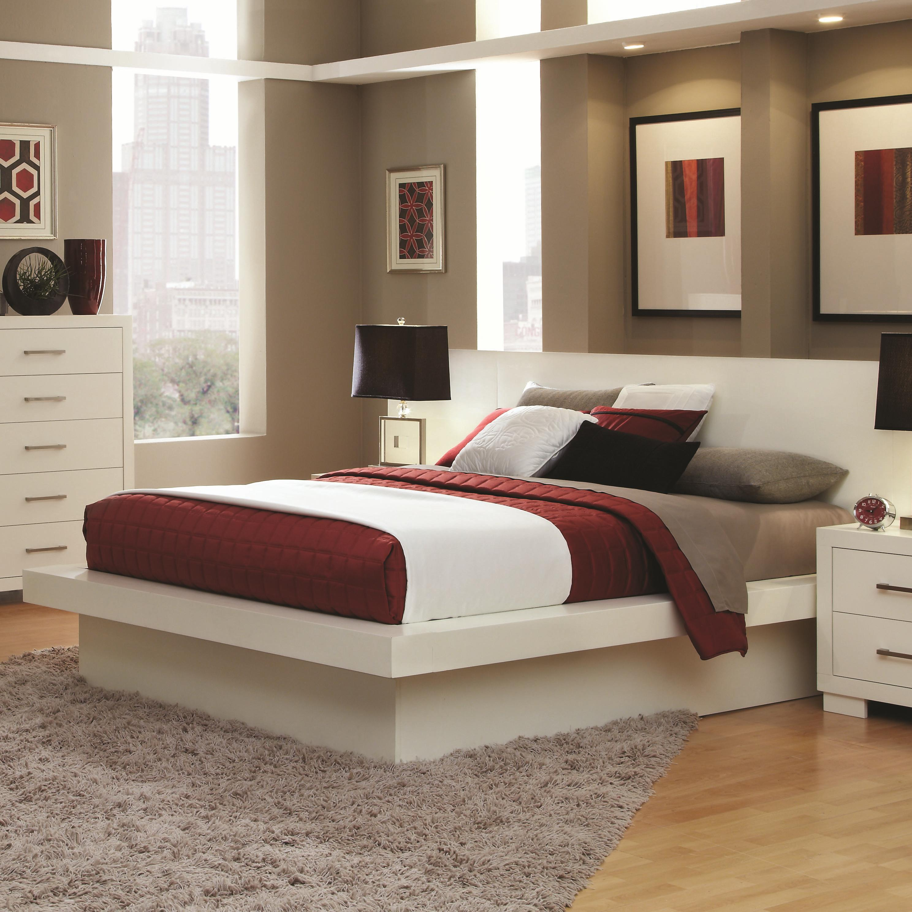 Fullsize Of White Platform Bed