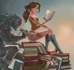 Disney Princesses with badass inks