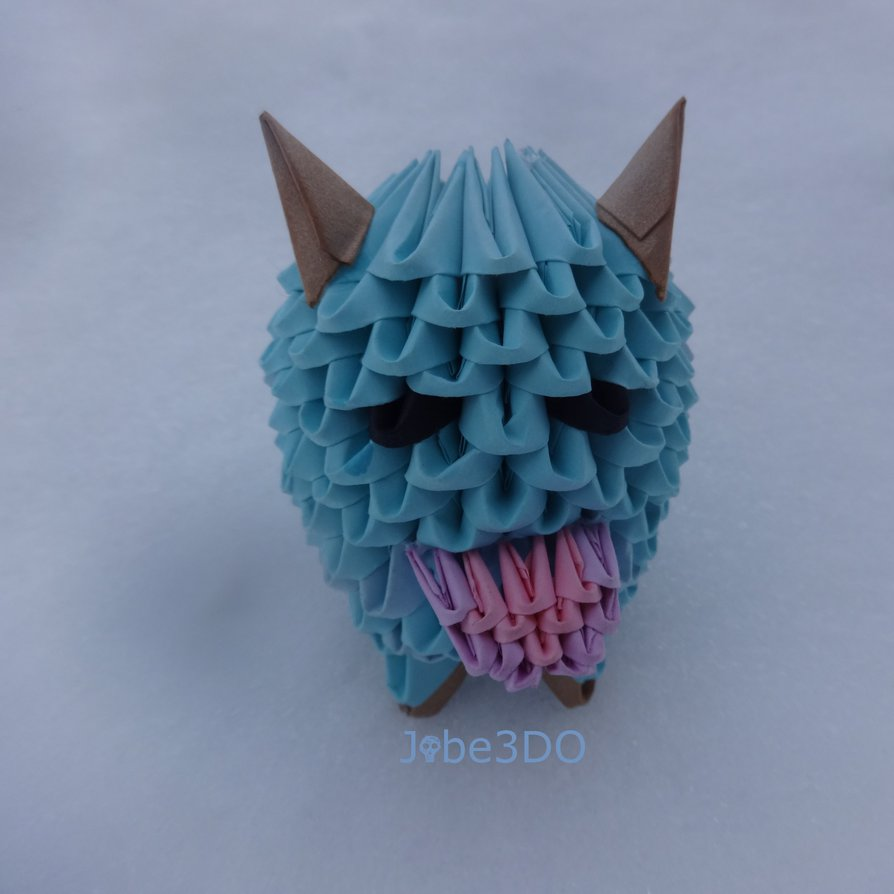 3D Origami - Poro