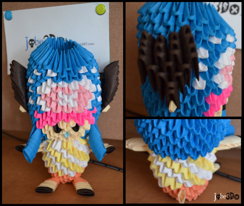 3D Origami - Tony Tony Chopper