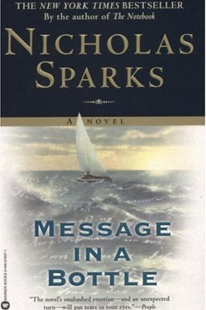 Reading books Message in a Bottle