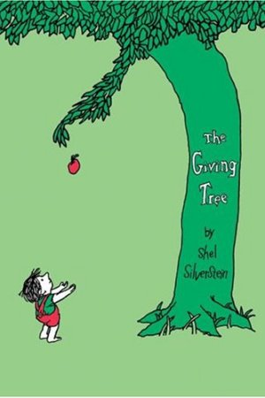 Reading books The Giving Tree