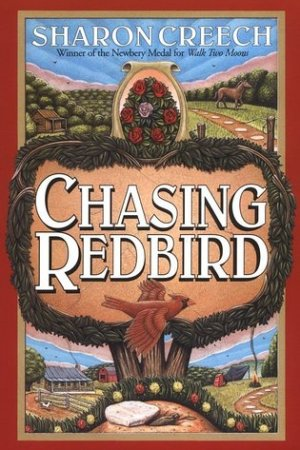 Reading books Chasing Redbird