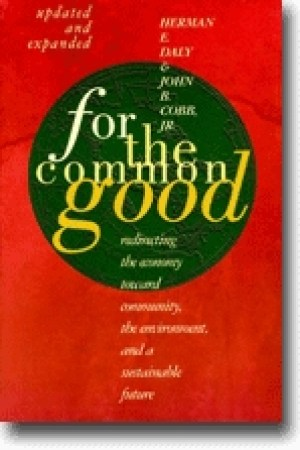 Reading books For the Common Good: Redirecting the economy toward community, the environment, and a sustainable future.