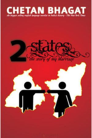 Reading books 2 States: The Story of My Marriage
