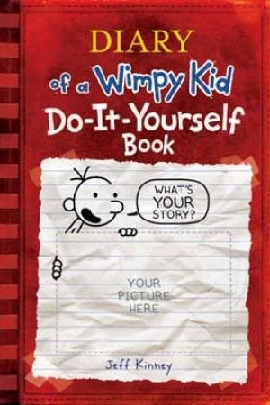 Reading books Do-It-Yourself Book (Diary of a Wimpy Kid)