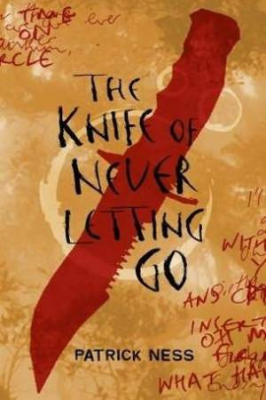 Reading books The Knife of Never Letting Go (Chaos Walking, #1)