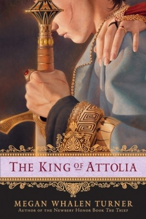 Reading books The King of Attolia (The Queen's Thief, #3)