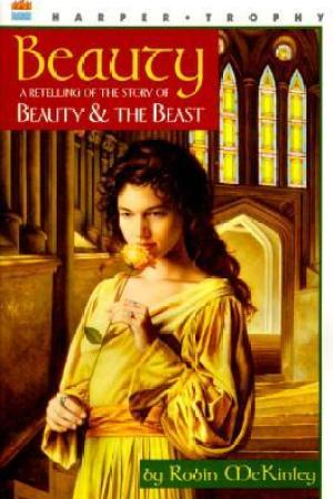 Reading books Beauty: A Retelling of the Story of Beauty and the Beast