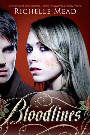 Reading books Bloodlines (Bloodlines, #1)