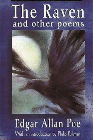 Reading books The Raven and Other Poems