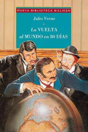 Reading books La vuelta al mundo en 80 das