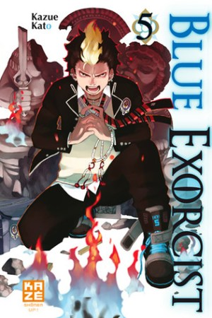 Reading books Blue exorcist, Tome 5