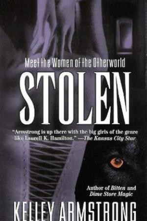 Reading books Stolen (Women of the Otherworld, #2)