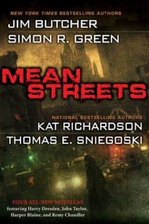 Reading books Mean Streets (Remy Chandler, #1.5; Greywalker, #3.5; Nightside, #9.5; The Dresden Files, #10.5)
