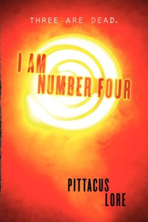 Reading books I Am Number Four (Lorien Legacies, #1)