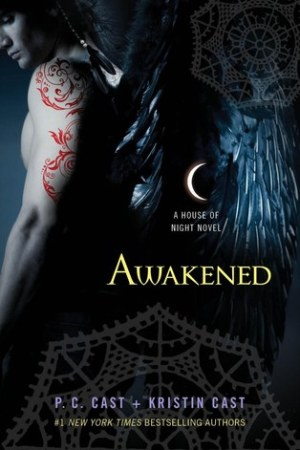 Reading books Awakened (House of Night, #8)